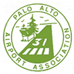 Palo Alto Airport Association logo (green)